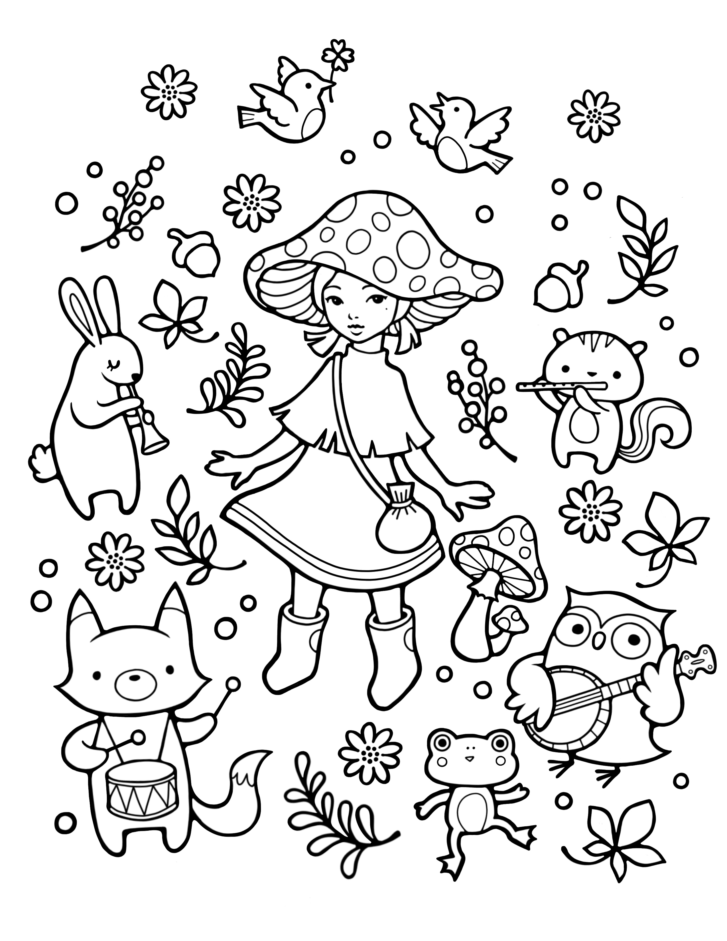 Free Coloring Pages Brea Gallery